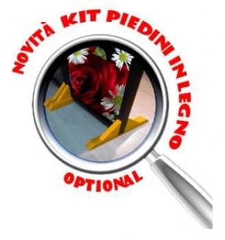 Kit Piedini (Optional) per mantenere il divisorio dritto senza piagare le ante