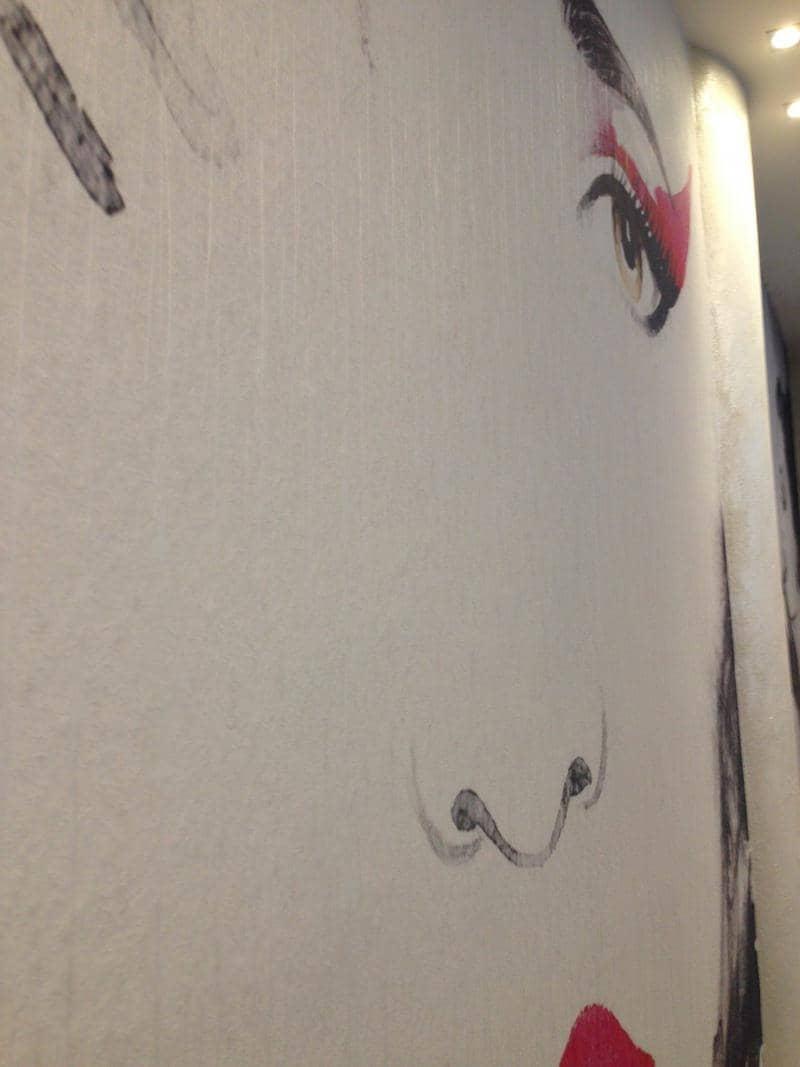 Carta da Parati Effetto Muro