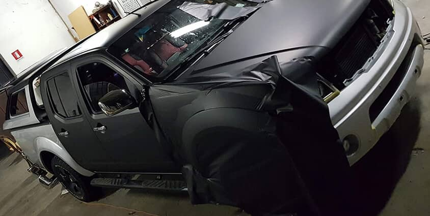 CarWrapping Nero Opaco
