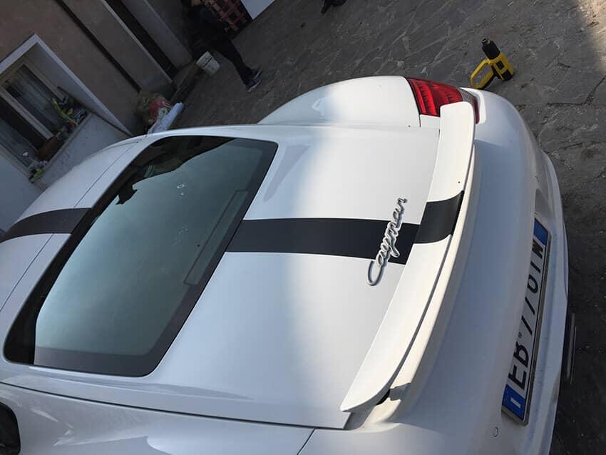 Fascia Nera Porsche