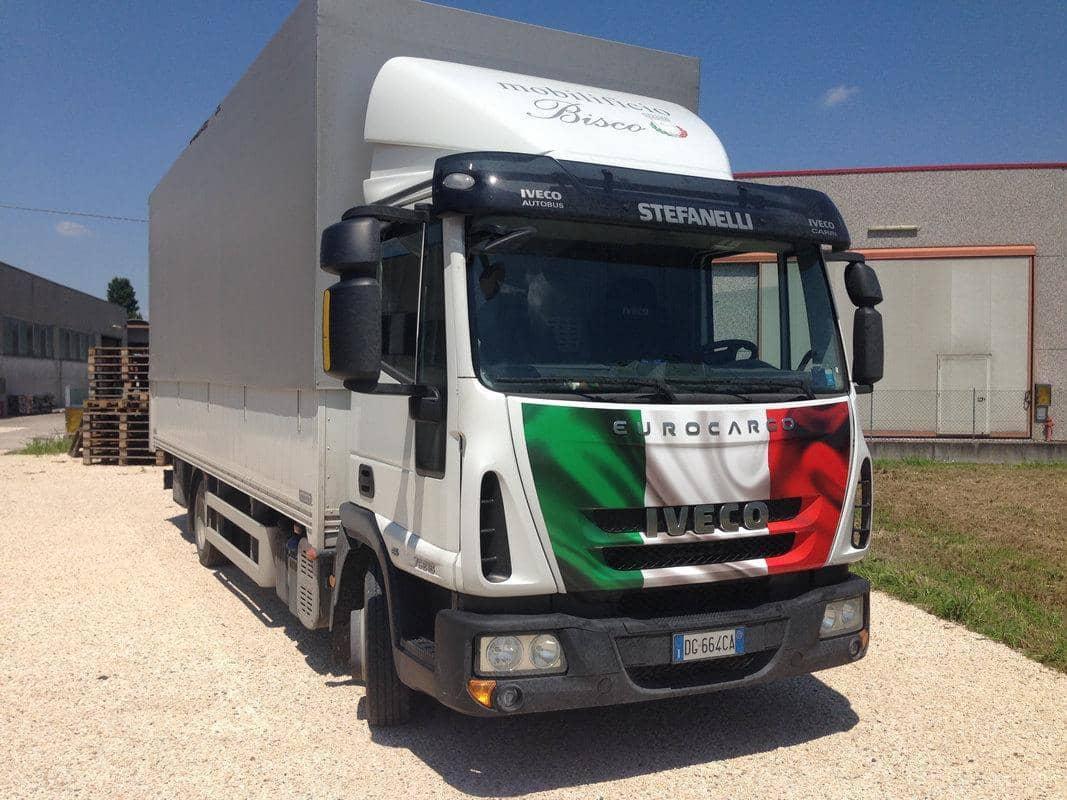 Adesivo Camion Italia