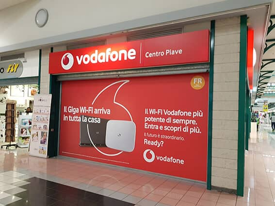 Vetrina Vodafone