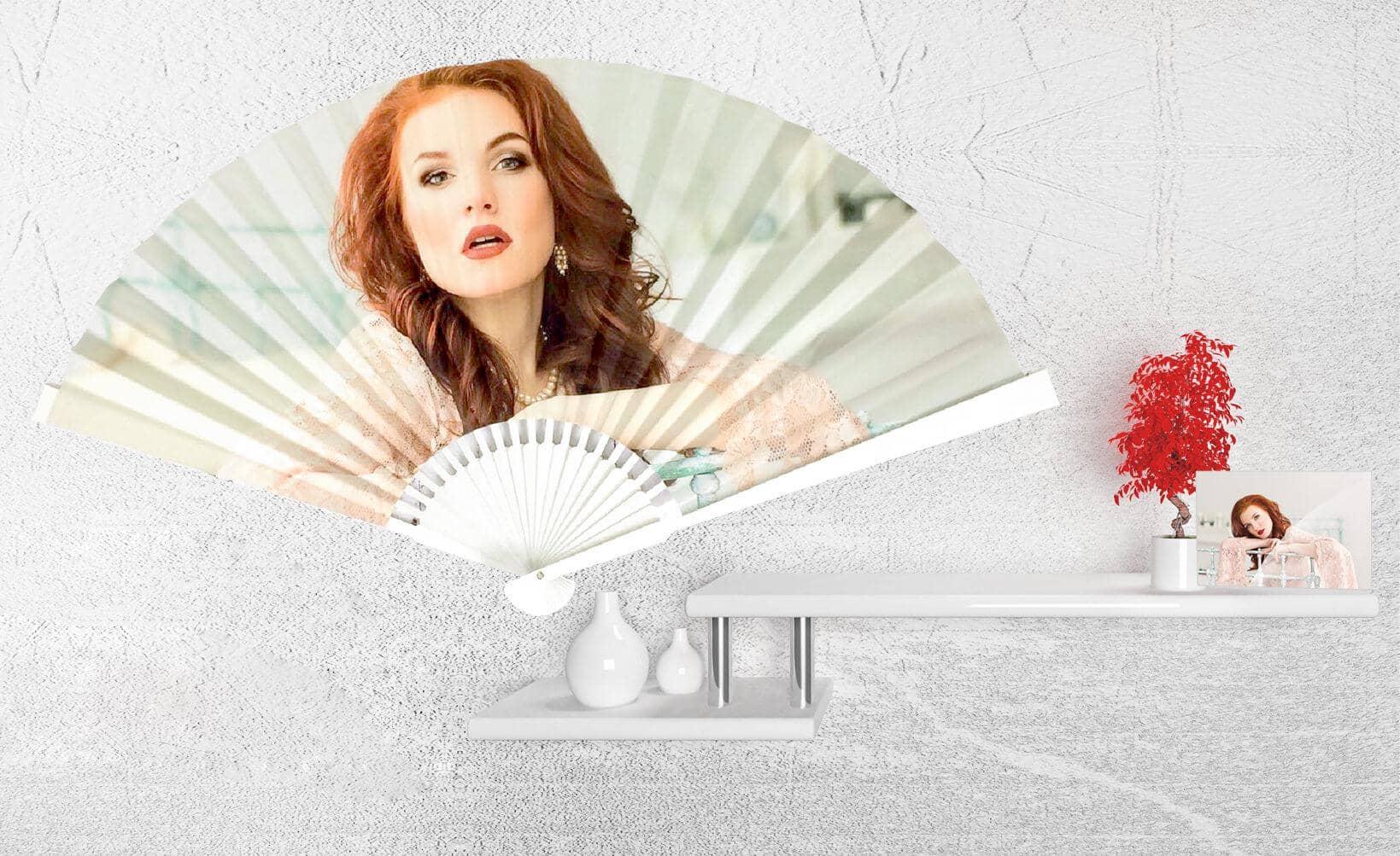 Ventagli Da Parete Decorativi ventaglio decorativo personalizzato