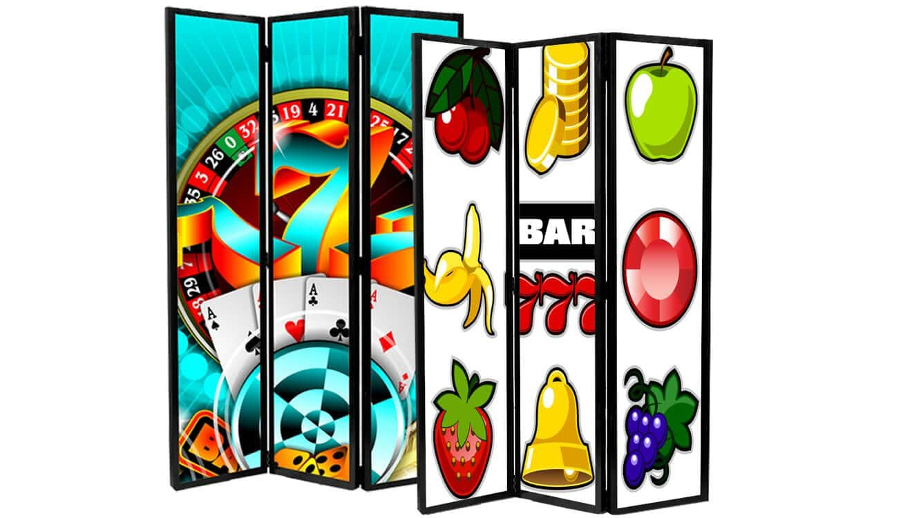 Separé Divisori Slot Machines